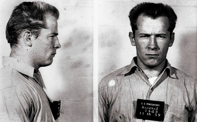 Whitey Bulger at Alcatraz