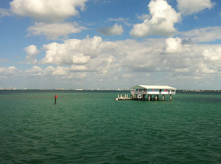 A house in Stiltsville
